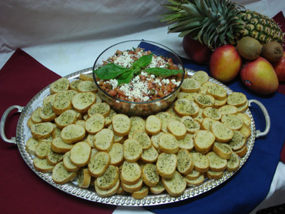 cracker tray cater catering Parnita's