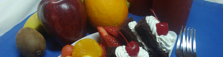 dessert plate catering