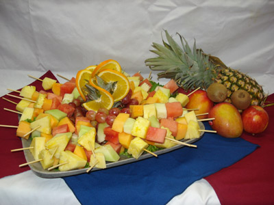 fruit tray cater catering Parnita's